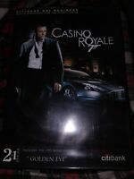 RARE Citi Bank NRI Business Casino Royale And Golden Eye Promotional Dvd 2 In 1