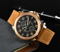 44mm Parnis black dial steel case Sapphire crystal Automatic Mens Watch ST2542