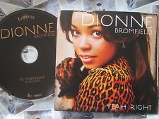 Dionne Bromfield ‎– Yeah Right  Lioness Records YRIGHTCD 3 UK Promo CD Single