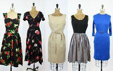 VINTAGE 1950s 1960s RESELLER LOT  | vintage lot of five dresses |  LOT #15