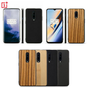 For OnePlus 7 Pro 6T 5T Shockproof Hybrid Wood Bamboo Pattern Phone Case Cover