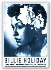 Billie Holiday Reproduction Vintage Poster Art Print 24x17