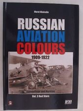 Russian Aviation Colours 1909-1922. Volume 3 - Red Stars Color Profiles
