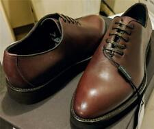 $895 Mens Dolce Gabbana Leather Oxford Dress Shoes Bordeaux 39 US 6