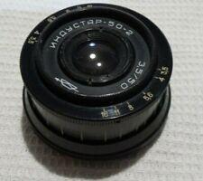INDUSTAR 50-2 KMZ F3.5/50mm Russian Lens for Praktica SLR M42 mount camera 7468