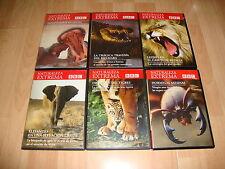 NATURALEZA EXTREMA DOCUMENTAL DE LA BBC  EN DVD SERIE COMPLETA CON 12 DISCOS