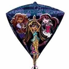 43cm Monster High Children's Birthday Party 3D Diamond Shape Foil Balloon