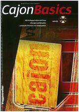 Matthias Philipzen - Cajon Basics inkl. CD - Schule