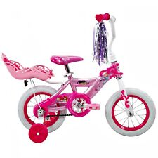 New Princess 12 Girls EZ Build Bike with Doll Carrier