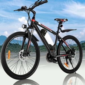 WINICE Elektrofahrrad 26 Zoll Elektrisches Mountainbike Fahrrad E-Bike 350W