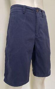 """Tommy Hilfiger Denim Navy Cotton """"Freddy"""" Chino Shorts - Size - W36"""", 92 Cm's"""