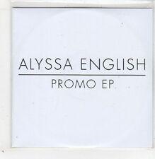 (GB586) Alyssa English, 5 track sampler - 2013 DJ CD
