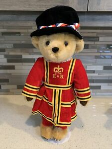 """Harrods 18"""" Queen Elizabeth Beefeater Royal Guard Bear By Merrythought"""