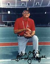 Woody Hayes Ohio State Signed 8x10 Autographed Photo Reprint