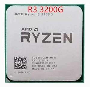 AMD Ryzen 3 3200G R3 3200G 3.6 GHz quad-core four-thread 65W processor AM4
