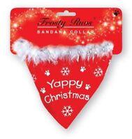 Christmas Dog Bandana Collar Pet Puppy Scarf Yappy Christmas Presents Xmas Gift