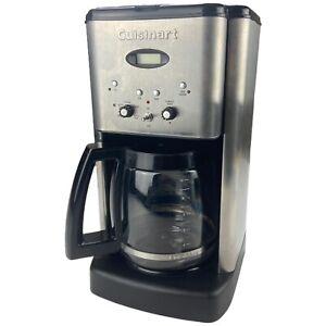 Cuisinart Brew Central Black 12 Cup Programmable Coffee Maker DCC-1200 EUC