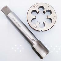 1pcs HSS TR12 x 3mm Tap /& 1pcs TR12 x 3.0mm Die Metric Thread Right Hand