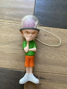 """The Tick Cartoon Charles the Brain Child Taco Bell Cup & Ball Toy 6"""" Figure 1996"""