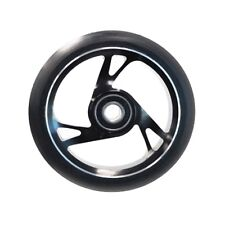 Scooter Wheel Alloy Core 125mm with Abec 9 Bearing BLACK