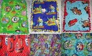 "Disney Fleece Baby Blanket Cars Monsters Inc Toy Story Pet Lap 30"" x 24"" New"
