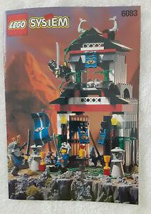 Lego 6083 Samurai Stronghold Ninja 1998 100% Complete w/Instructions
