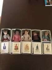 American Girl Doll 25 Anniversary Original Mini Dolls Set