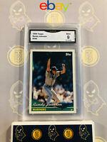 1994 Topps Randy Johnson #290 - 9 MINT GMA Graded Baseball Card