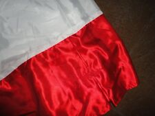 R & F RED QUEEN BEDSKIRT SATIN  POLYESTER SOFT BUTTON GIRLS NOT SPLIT CORNER 14