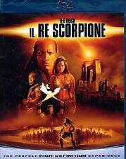 Blu Ray IL RE SCORPIONE *** Contenuti Speciali ***   ......NUOVO