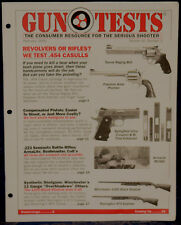 Magazine GUN TESTS, February 2000 !!! GLOCK 19 and 19C 9mm Luger PISTOLS !!!