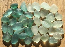 Genuine Surf Tumbled Sea Glass Mini Teal Aqua & seafoam TA822
