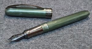 Visconti Rembrandt, green, fountain pen