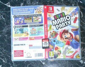 Jeu Switch Super Mario Party tb état