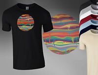 Melting Planet Tie Dye Colour Galaxy Hipster Boys Men T Shirt Top Tee A65