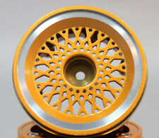 RC 1/10 Scale Truck Rims Wheel 1.9 Rock Crawler BEADLOCK Metal  GOLD (2pc)