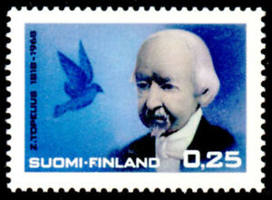 Finland 1968 Writer, Author - Zacharias Topelius, Bird, MNH / UNM