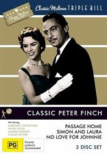 Classic Matinee Triple Bill - Classic Peter Finch (DVD, 2010, 3-Disc Set)