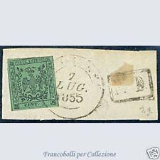 Antichi Stati Italiani 1852 Modena n. 1 Usato frammento