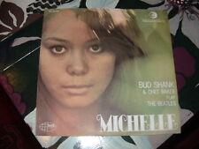 """BUD SHANK - CHET BAKER """" MICHELLE - GIRL (Beatles) """" ITALY'66   RARO"""