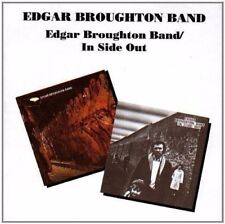 EDGAR BROUGHTON BAND Edgar Broughton Band & In Side Out RARE OOP 2on1 REMAST