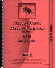 Massey Ferguson 35 35X Tractor Parts Manual (MH-P-MF35)