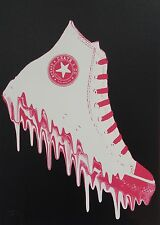 Death NYC - (CONS KICK BLACK W) Limited Edition Signed Graffiti/Urban Art Print