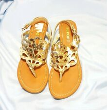 Report Lysa Gold  Gladiator Sandals Size 7