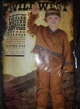 Brand New Native American Boy Toddler Halloween Costume