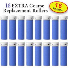 16 X EXTRA Coarse Micro Mineral Emjoi Micro-Pedi Compatible Replacement Rollers