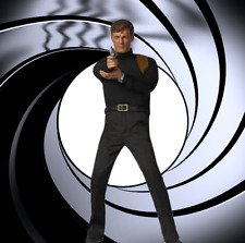 "1/6 James Bond 007 Diorama 15""x15"" for IKEA Detolf - Sideshow Or Big Chief"