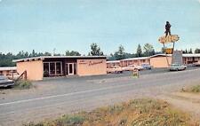 Photo. ca 1965. Abbotsford, BC Canada. Davy Crockett Motel