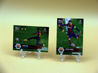 TOPPS NOW ANSU FATI #3 + LIONEL MESSI #1 ( FC BARCELONA - CHAMPIONS LEAGUE)