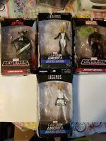 Marvel Legends Series lot of 4 Figures (Dr.Strange Grim Reaper and Agents)